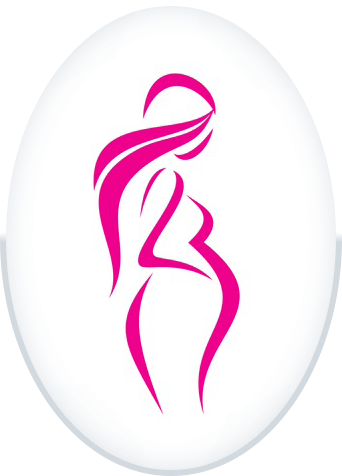 Pink pregnant Silhouette